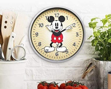 $3 off Echo Wall Clock Mickey Mouse Edition.