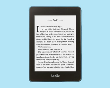 Kindle Paperwhite . Thinner, lighter-and now waterproof