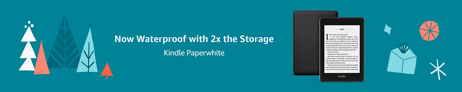 Kindle Paperwhite | Now Waterproof with 2x the Storage