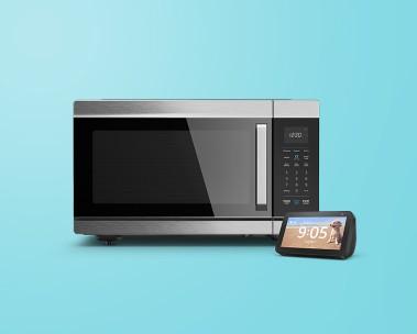 Amazon Smart Oven + Echo