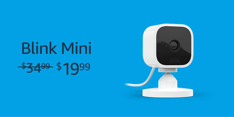 Blink Mini Camera for $19.99