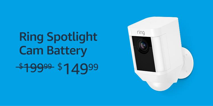 Ring Spotlight Cam Battery for $149.99