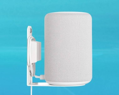 Image of an Echo Plus mount in the color white.