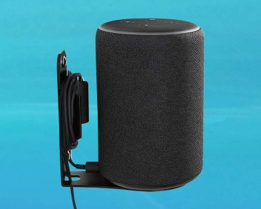 Image of an Echo Plus mount in the color black.