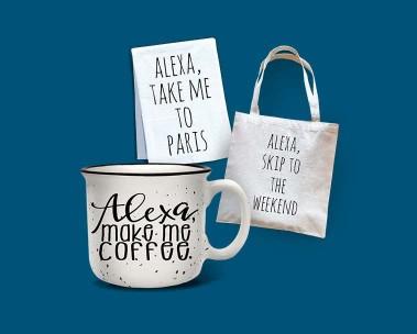 Alexa Merch Store. Shop now