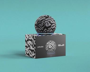 Limited Edition Echo Dot in collaboration with Diane Von Furstenberg