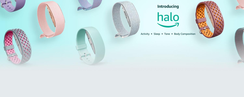 Introducing Halo. Activity + Sleep + Tone + Body Composition