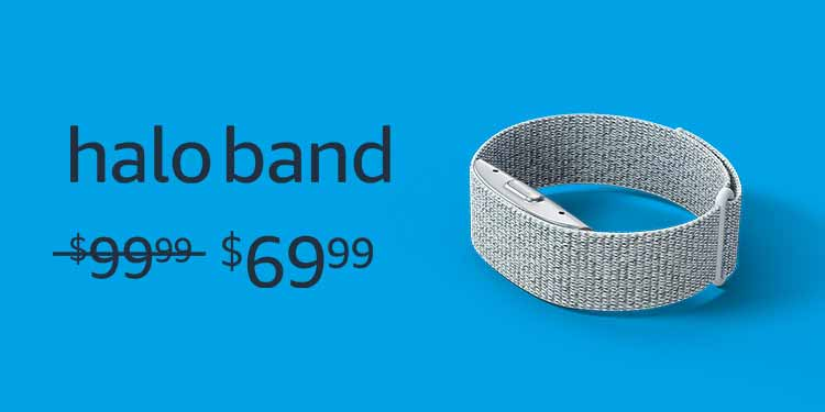 Halo Band. Was $99.99, now on sale for $69.99