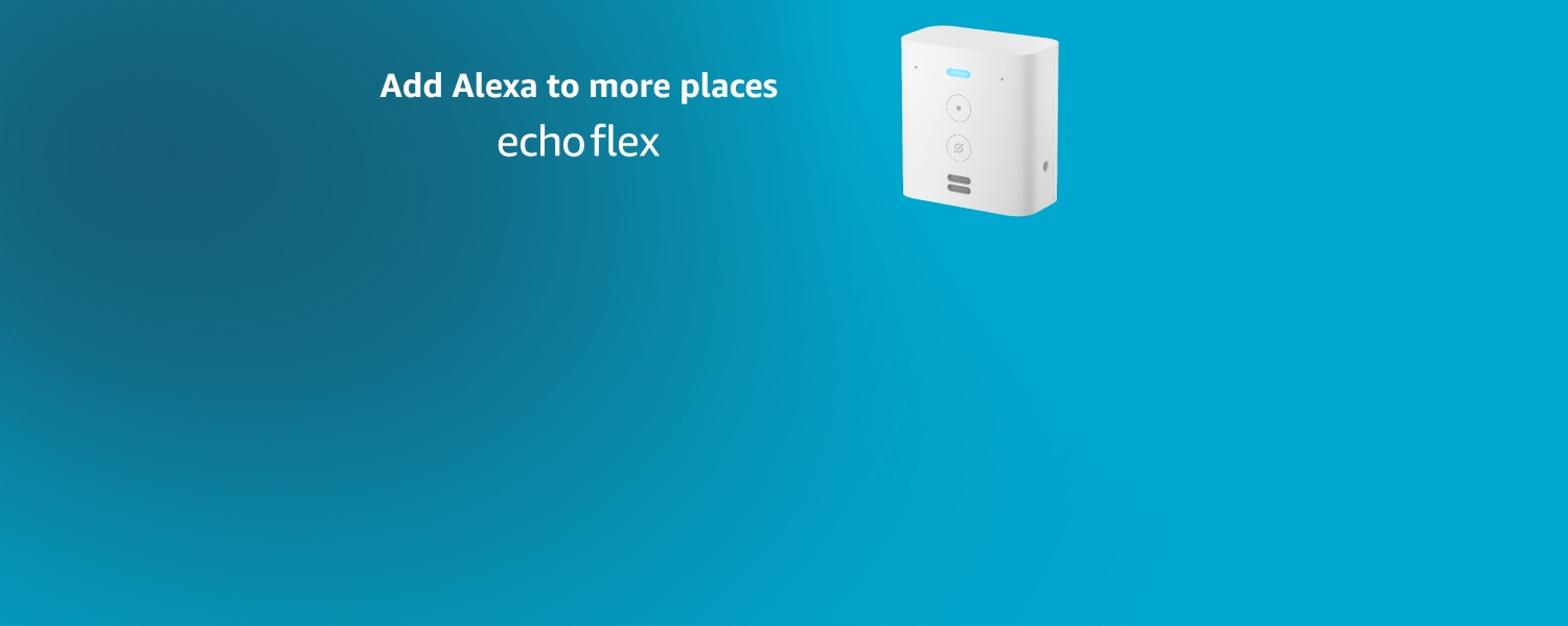 Add Alexa to more places | Echo Flex