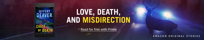Amazon Original Stories   Cause of Death by Jeffery Deaver