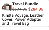 Kindle Voyage Travel Bundle