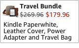 Kindle Paperwhite Travel Bundle