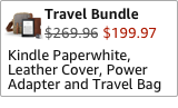 Kindle Paperwhite Travel Bundle