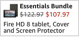 Fire HD 8 Essentials Bundle