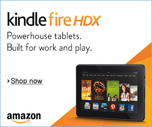 Shop Amazon - Get the New Kindle Fire HDX Tablet