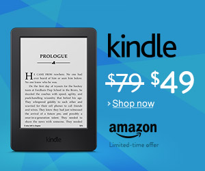 Kindle discount banner