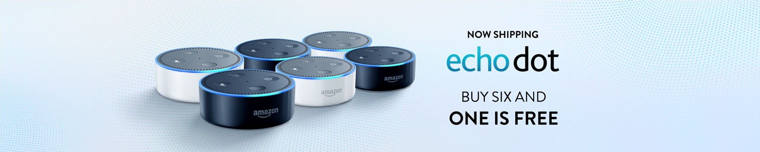 All-New Echo Dot, Buy 5 Get 1 Free