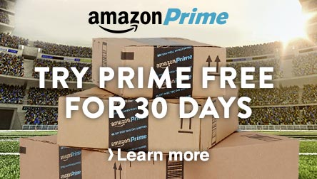 Try Prime Free For 30 Days - Learn more