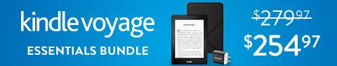 Save $25 on Kindle Voyage Essentials Bundle