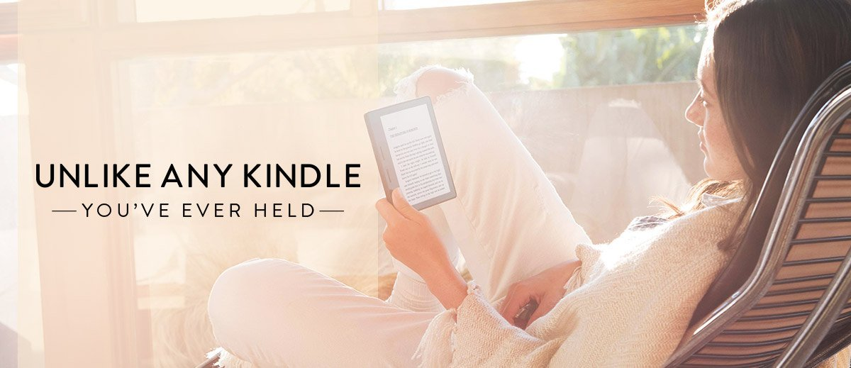 Unlike any Kindle you've ever held