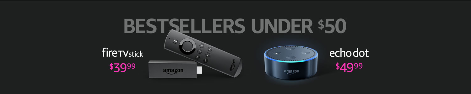 Best-selling Amazon Devices under $50