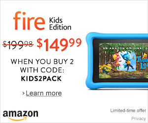 Amazon Fire Tablet, Kids' Edition