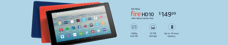 All-New Fire HD 10