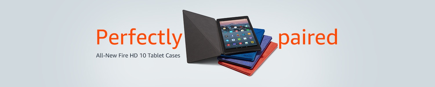 Perfectly paired: All-New Fire HD 10 tablet cases