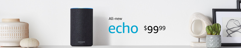 All-new Echo $99.99