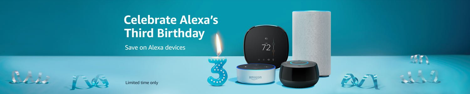 Celebrate Alexa's Third Birthday