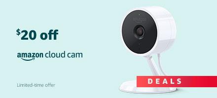 Black Friday Deals Week - $20 off Amazon Cloud Cam