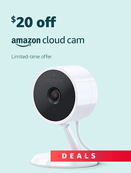 Black Friday Deals Week: Save $20 on Amazon Cloud Cam. Limited-time offer.