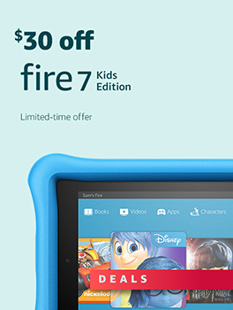 Black Friday Deals Week: Save $30 on All-New Fire 7 Kids Edition Tablet. Limited-time offer.