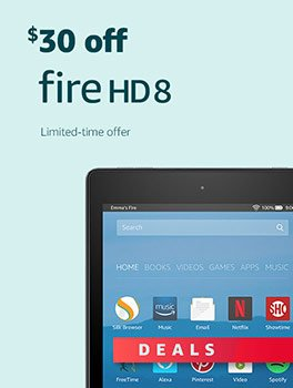 Black Friday Deals Week: Save $30 on All-New Fire HD 8. Limited-time offer.