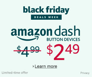 Shop Amazon Devices - 50% Off All Dash Button Devices