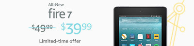 Limited-time offer: $10 off All-New Fire 7