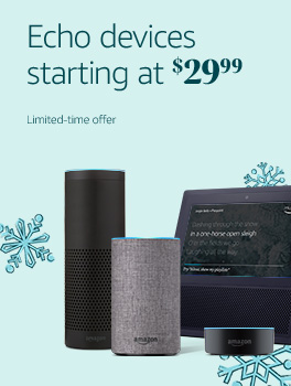 Echo devices starting at $29.99 | Limited-time offers