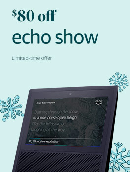 $80 off Echo Show | Limited-time offer.