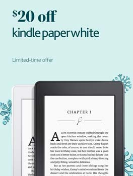Holiday deals - Save $20 on Kindle Paperwhite. Limited-time offer.