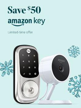 Save $50 on an Amazon Key In-Home Kit. Limited-time offer.