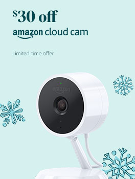 $30 off Amazon Cloud Cam. Limited-time offer.