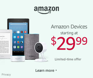 Shop Amazon Devices - Holiday Deals Starting at $29.99