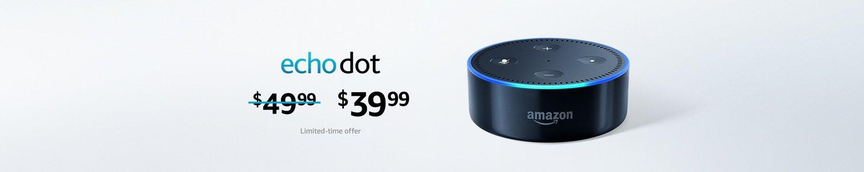 Echo Dot $39.99