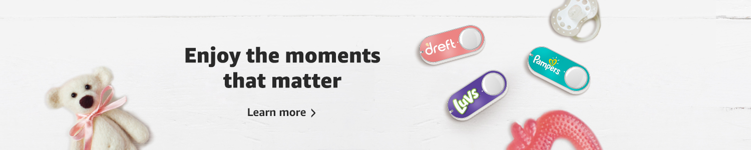Dash Button lets you enjoy the moments that matter