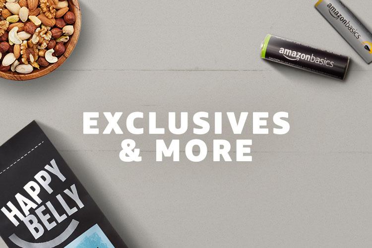 Amazon Exclusives & More Dash Buttons