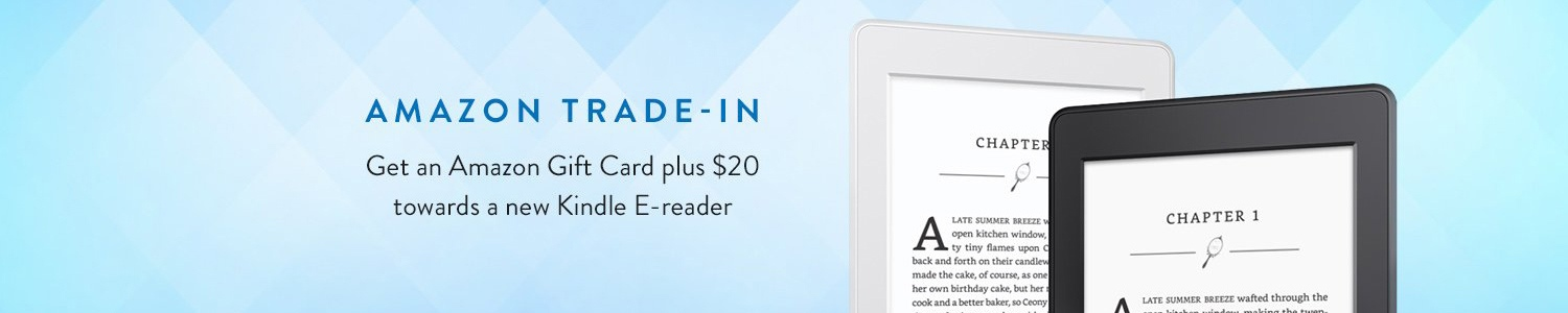 Trade-in your Kindle
