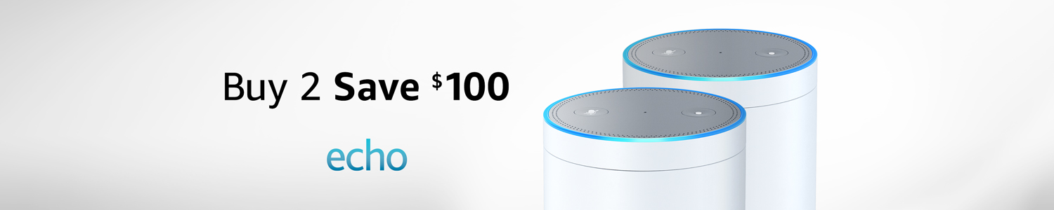 Echo Buy 2 Save $100