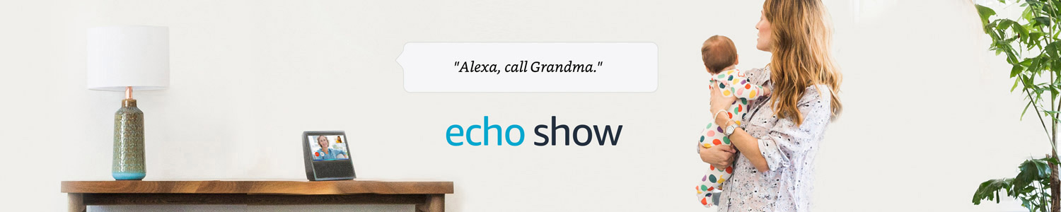 Alexa, call Grandma | Echo Show | With calling and messaging