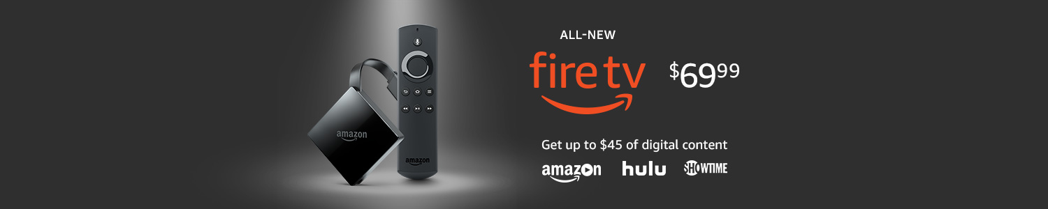 All-new Fire TV with 4K HDR and Alexa Voice Remote