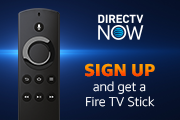 Sign up for one month of DIRECTV NOW and get a Fire TV Stick